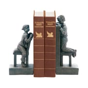 Sterling Industries 58293-32769 Set of 2 Peek A Boo Decorative Bookends, Black