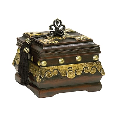 Sterling Industries 58289-22639 Brown Composite Decorative Box