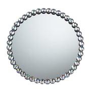 """Sterling Industries 58251-100189 16""""Dia kids Auburn Jewel Edged Round Wall Mirror"""