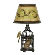 "Dimond Lighting Trading Places Table Lamp 58291-6209 18"" Incandescent Table Lamp, Bronze"