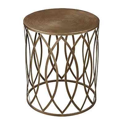 Sterling Industries Metal Side Table, Gold, Each (582138-0099)