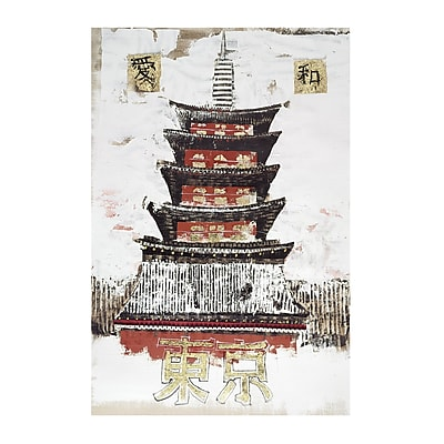 Sterling Industries Beijing Alberto De Serafino Canvas Wall Art, 39