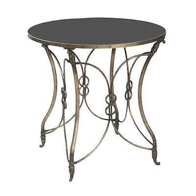 Sterling Industries 58251 Metal End Table, Bronze, Each (58251-11889)