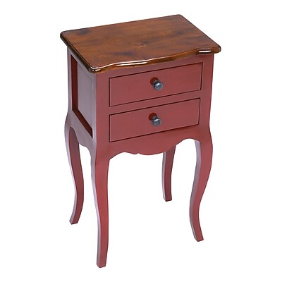 Sterling Industries Amador Wood Side Table, Mahogany, Each (58265000009)