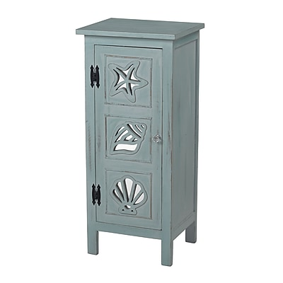 Sterling Industries Normandy Shore 582137-0069 Accent Cabinet, Quincy Green