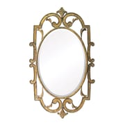 """Sterling Industries 58255-2149 40""""H x 24""""W Woodside Arch/Crowned Top Wall Mirror"""