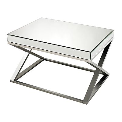 Sterling Industries 582114 Metal Coffee Table, Chrome, Each (582114-419)