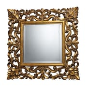 "Sterling Industries 582DM19299 22""H x 22""W Barrets Square Wall Mirror"