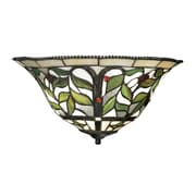 "Elk Lighting Latham 58270098-29 8"" x 16"" 2 Light Wall Sconce, Tiffany Bronze"