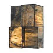 "Elk Lighting Cubist 58272070-2 10"" x 7"" 2 Light Wall Sconce, Brushed Nickel"