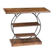 Sterling Industries 582138 Metal Console Table, Oak, Each (582138-1139)