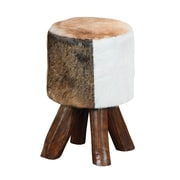 "Elk Lighting/Sterling Industries Industries Ilford 582650053 18"" Natural Stain on Mahogany Stool"