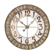 Sterling Industries 582128-10019 Montana Wall Clock, White Face