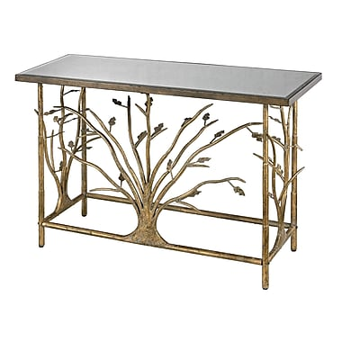 Sterling Industries 582114 Metal Console Table, Gold, Each (582114-959)