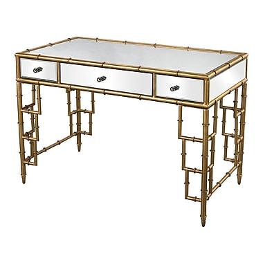 Sterling Industries Tunbridge 582114-599 Contemporary Glass/Metal/MDF Table