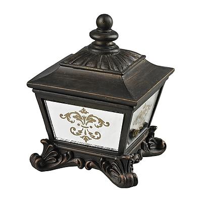Sterling Industries 58287-80039 Aria Bronze Composite Storage Box