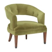 Sterling Industries Industries 58260710829 Rubbed Bronze/Moss Green Velvet Accent Chair