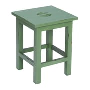 """Sterling Industries 58265005549 18"""" Evansville Painted Finish on Solid Mahogany Stool"""