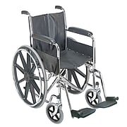 "Dmi Standard Wheelchair with Fixed Armrest 36"" x 26"""