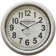 "Yosemite Home Decor 23.5"" x 23.5"" Metal Oversized Wall Clock"
