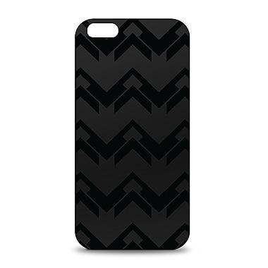 Centon OTM™ Black on Black Collection Black Matte Case For iPhone 6, Herringbone