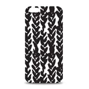 Centon OTM™ Black on White Collection White Glossy Case For iPhone 6, Hearts