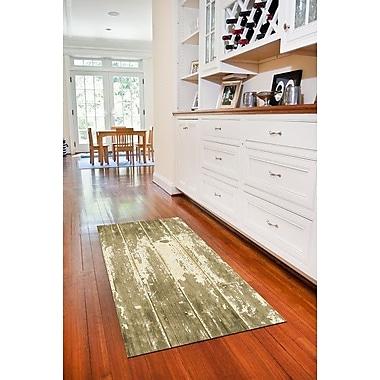Bungalow Flooring Fo Flor Barnboard Doormat; 25'' x 60''