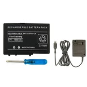 Insten® 240651 2-Piece Game Battery Bundle For Nintendo DS Lite