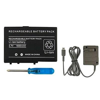 Insten® 240651 2-Piece Game Battery Bundle For Nintendo DS Lite