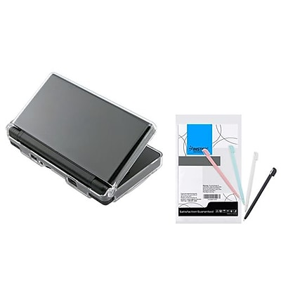 Insten® 244301 2-Piece Game Case Bundle For Nintendo DS Lite