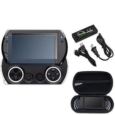Insten® 280620 3-Piece Game Adapter Bundle For Sony PSP Go/Sony PSP Go/Sony PSP Go