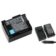 Insten® 2-Piece DV Battery Bundle For Canon BP-808/BP-807/BP-809/BP-819/BP-827 Battery(283189)
