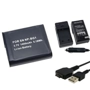 Insten® 314749 3-Piece DV Battery Bundle For Sony NP-BG1/Cyber-Shot DSC-N1/Sony BG1 Batteries