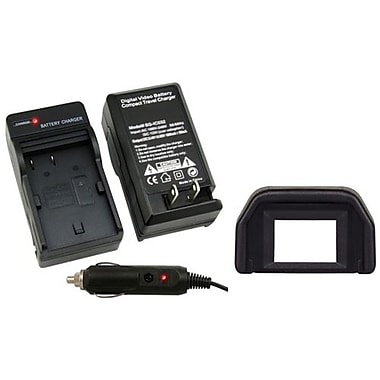 Insten® 2-Piece DV Battery Charger Bundle For Canon BP-508/BP-511/BP-511A/BP-512/BP-514(314893)