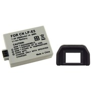 Insten® 314896 2-Piece DV Battery Bundle For EOS Rebel XSi/Canon