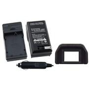 Insten® 2-Piece DV Battery Charger Bundle For Canon LP-E5(314898)