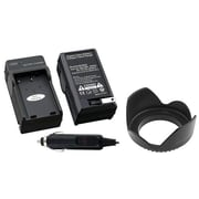 Insten® 314916 2-Piece DV Battery Charger Bundle For Nikon EN-EL9