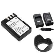 Insten® 314918 4-Piece DV Battery Bundle For D40/D40x/Nikon EN-EL9/58mm Lens/Filters