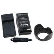 Insten® 314935 2-Piece DV Battery Charger Bundle For Nikon EN-EL3