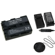 Insten® 314964 3-Piece DV Battery Bundle For Sony NP-FM500H/Alpha A850/Sony NP-FM30/NP-FM50