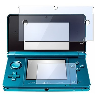 Insten® 350313 3-Piece Game Screen Protector Bundle For Nintendo 3DS