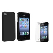 Insten® 351387 2-Piece iPhone Case Bundle For Apple iPhone 4/4S