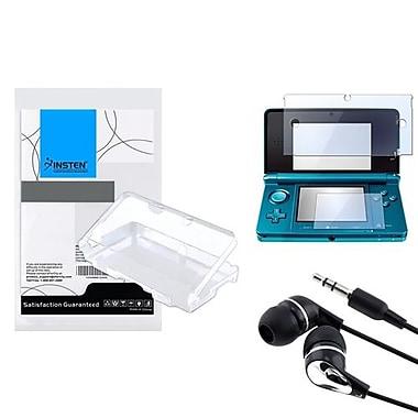 Insten® 352577 3-Piece Game Case Bundle For Nintendo 3DS