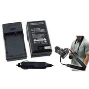 Insten 2-Piece DV Battery Charger Bundle For Canon LP-E5(352881)