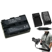 Insten® 352888 4-Piece DV Battery Bundle For Sony NP-FM500H/Alpha A850/Sony NP-FM30/NP-FM50