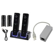 Insten® 359172 2-Piece Game Adapter Bundle For Nintendo Wii/Wii U