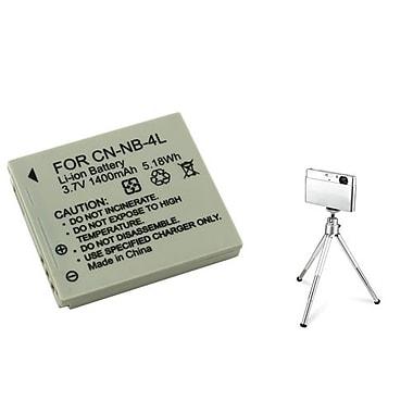 Insten® 361158 3-Piece DV Battery Bundle For PowerShot SD630/SD750
