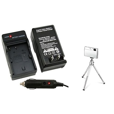 Insten® 361164 2-Piece DV Battery Charger Bundle For Canon BP-508/BP-511/BP-511A/BP-512/BP-514