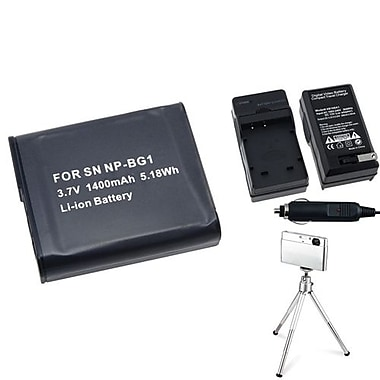 Insten® 3-Piece DV Battery Bundle For Sony NP-BG1/Cyber-Shot DSC-N1/DSC-T100(361188)