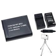 Insten® 361189 4-Piece DV Battery Bundle For Sony NP-BG1/Cyber-Shot DSC-N1/DSC-T100